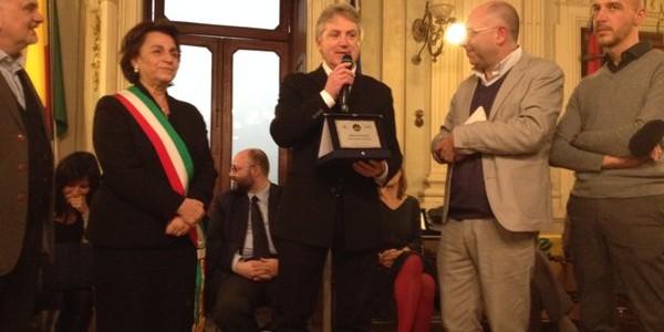 La premiazione di Alberto Grossi